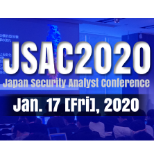 Japan Security Analyst Conference 2020 (JSAC2020)